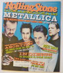 Click to view larger image of Rolling Stone Magazine June 27, 1996 Metallica  (Image1)
