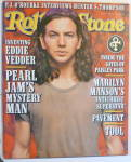 Click to view larger image of Rolling Stone Magazine November 28, 1996 Eddie Vedder (Image2)