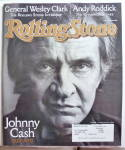 Rolling Stone Magazine October 16, 2003 Johnny Cash