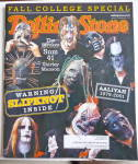 Rolling Stone Magazine October 11, 2001 Slipknot