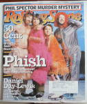 Rolling Stone Magazine March 6, 2003 Phish