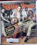 Rolling Stone Magazine March 15, 2001 Dave Matthews