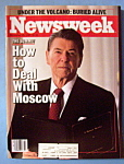 Newsweek Magazine -November 25, 1985- President Reagan