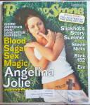 Rolling Stone Magazine July 5, 2001 Angelina Jolie
