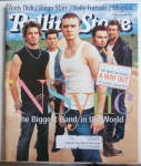 Rolling Stone Magazine August 16, 2001 'NSync