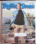 Rolling Stone Magazine November 9, 2000 Al Gore