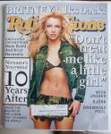 Rolling Stone September 13, 2001 Britney Spears