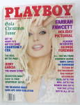 Playboy Magazine-December 1995-Farrah Fawcett