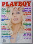 Click to view larger image of Playboy Magazine-December 1995-Farrah Fawcett (Image2)
