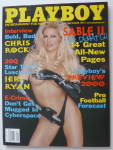 Playboy Magazine-September 1999-Sable
