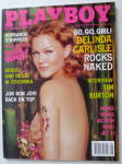 Playboy Magazine-August 2001-Belinda Carlisle