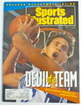 Click to view larger image of Sports Illustrated Magazine November 25, 1991 Laettner (Image2)