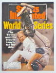 Sports Illustrated Magazine October 28, 1991 Series