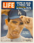 Life Magazine-August 2, 1963-Sandy Koufax