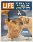 Click to view larger image of Life Magazine-August 2, 1963-Sandy Koufax (Image2)