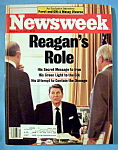 Newsweek Magazine - December 15, 1986 - Reagan's Role
