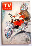 TV Guide-December 23-29, 1978-Santa on Motorcycle