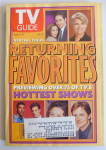 Click to view larger image of TV Guide-September 6-12, 1997-Returning Favorites (Image1)
