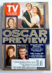 Click to view larger image of TV Guide-March 21-27, 1998-Oscar Preview  (Image1)