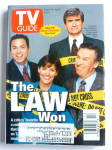 TV Guide-March 28-April 3, 1998-The Law Won