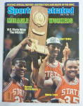 Sports Illustrated Magazine April 11, 1983 N.C State