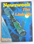 Newsweek Magazine July 21, 1975 The Link Up