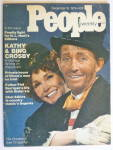 Click to view larger image of People Weekly Magazine December 16, 1974 Kathy & Bing  (Image3)