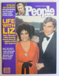 Click to view larger image of People Magazine October 20, 1980 Elizabeth Taylor  (Image1)