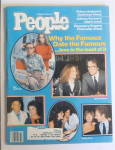 People Magazine October 25, 1982 Famous Date Famous