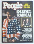 People Magazine May 1, 1989 Death Of A Radical