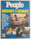 Click to view larger image of People Magazine October 30, 1989 Heroes Of Quake  (Image1)
