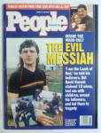 People Magazine March 15, 1993 The Evil Messiah