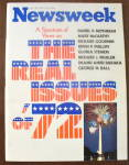 Click to view larger image of Newsweek Magazine-July 10, 1972-Real Issues of '72 (Image1)