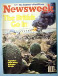 Click to view larger image of Newsweek Magazine-May 31, 1982-British Go In (Image1)