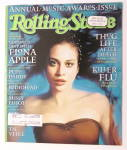 Click to view larger image of Rolling Stone January 22, 1998 Fiona Apple  (Image1)