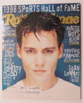 Click to view larger image of Rolling Stone June 11, 1998 Johnny Depp (Image1)