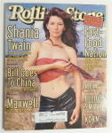Click to view larger image of Rolling Stone September 3, 1998 Shania Twain  (Image1)