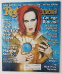 Click to view larger image of Rolling Stone October 15, 1998 Marilyn Manson (Image1)