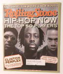 Rolling Stone October 29, 1998 Hip Hop Now