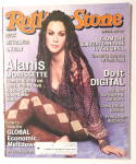 Click here to enlarge image and see more about item 21588: Rolling Stone November 26, 1998 Alanis Morissette
