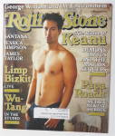 Click to view larger image of Rolling Stone August 31, 2000 Keanu Reeves (Image1)