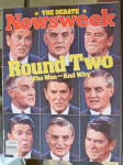 Newsweek Magazine-October 29, 1984-Round Two