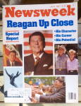 Click to view larger image of Newsweek Magazine-July 21, 1980-Reagan Up Close (Image1)