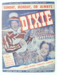 Sheet Music For 1943 Sunday, Monday Or Always