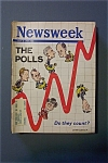 Newsweek Magazine - July  8, 1968  -  The Polls