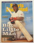 Click to view larger image of Sports Illustrated Magazine-April 6, 1992-Kirby Puckett (Image1)