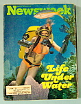 Newsweek Magazine - July 12, 1976 - Life Under Water