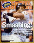 Sports Illustrated Magazine-October 8, 2001-Barry Bonds