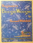 Sheet Music For 1943 Beginner's Boogie Woogie