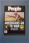 People Magazine - Jan. 28, 1991 - Americans Go To War
